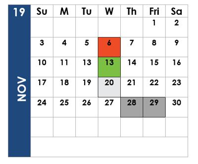 SP Nov 19